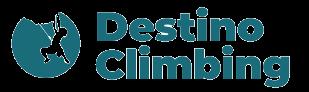 Destino Climbing - logo blue