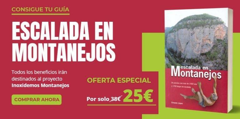Oferta Guía de escalada en Montanejos - Ernesto López