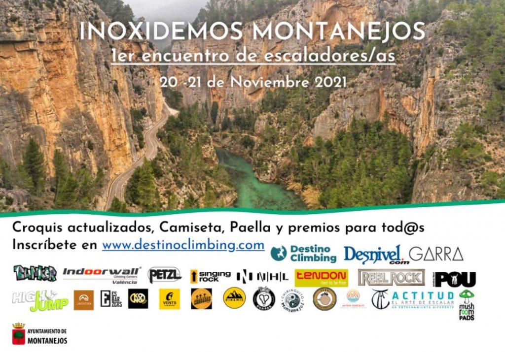 Primer encuentro de escaladores de INOXIDEMOS MONTANEJOS - destino climbing